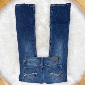 BKE Stella Womens Dark Wash Jeans Size 25 Regular